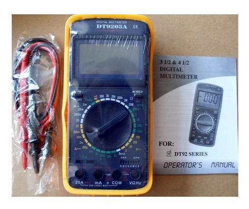数字万用表 dt9203a 测电容频率 4位半 高精度 威华电子