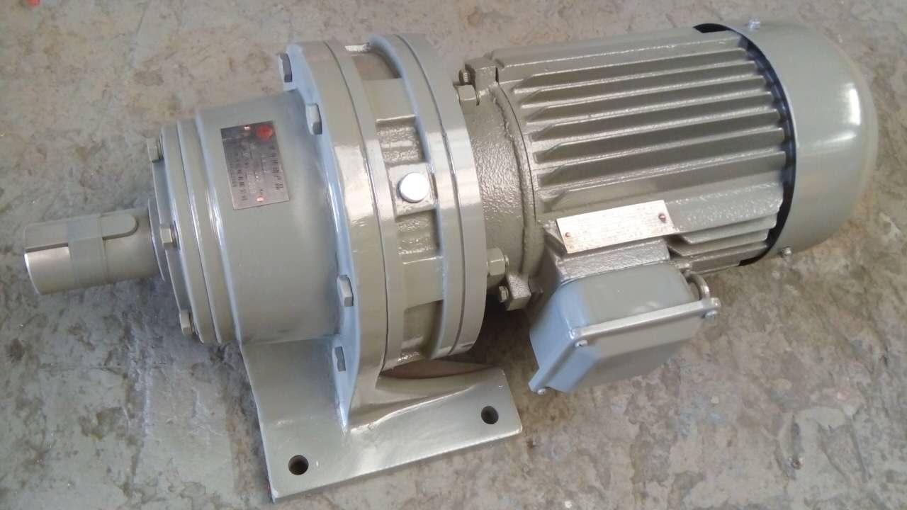 减速器中心高_-三相异步电动机带摆线针轮减速机/Y100L2-4/BWD2-17-3KW/3kW/传动比17:1 ...