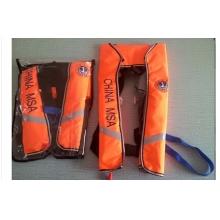 供应生产订做各种款式围巾式充气救生衣,便携式气救生衣,全自动充气救生衣