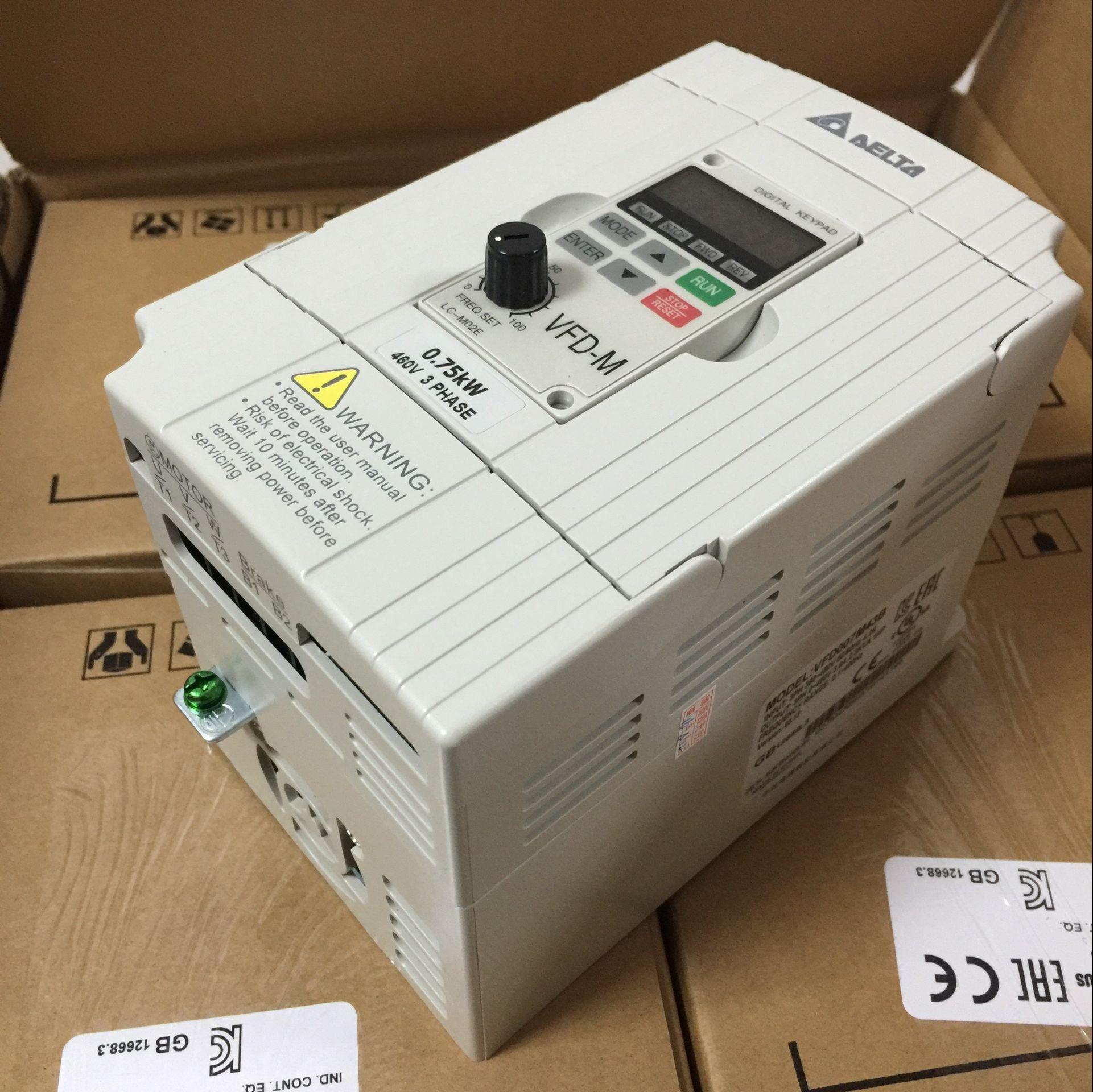 全新原装台湾台达m系列变频器 380v vfd055m43a