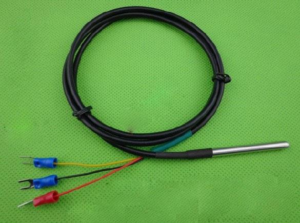铂热电阻 pt100/测温范围-200~500℃/三线制/Φ5×200mm/2.