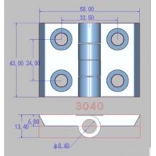 晟翔  3040 铝型材配件装饰连接件